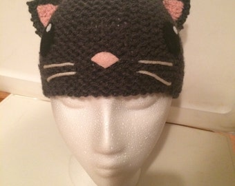 Knitted Animal Hats/Headbands