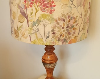 Voyage Hedgerow Linen Drum Lampshade - handmade lamp shades in 3 sizes!