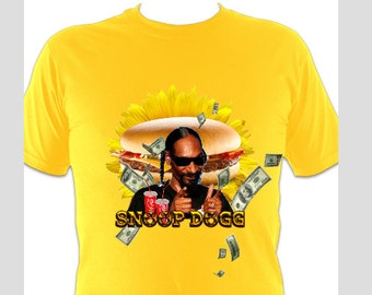 Snoop Dogg Drowning In Junkfood TOUR T-Shirt