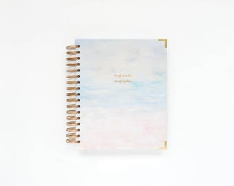 2017-2018 Weekly Planner | Academic Planner, 2017-2018 Planner, Weekly Agenda, She Plans Planner, Weekly Diary, Style No. STAND1718WS