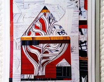 Greeting Cards (x5) Name: 'Treehouse' 2016