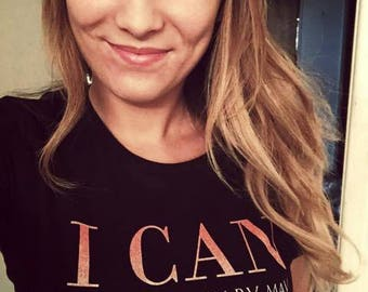 T-Shirt 'I CAN because of Mary Kay #MyMKLife'