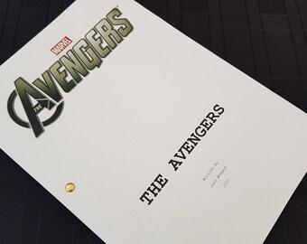 Marvels The Avengers  Film Script Movie Avengers Assemble