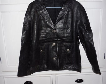 Leather jacket size 40-42