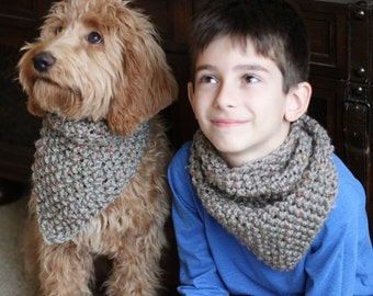 Dog scarf pattern Etsy