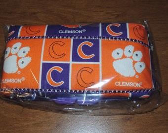 Clemson Baby Wipe Case