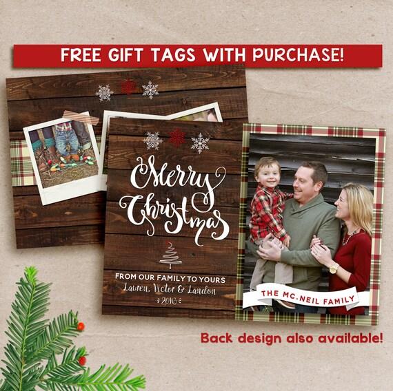 Family Christmas cards, family christmas card with photo, Merry Christmas Card