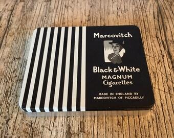 Vintage Marcovitch Art Deco cigarette tin