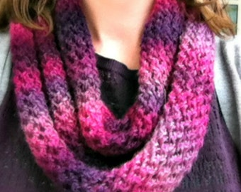 Unforgettable One-Skein Knit Scarf Pattern
