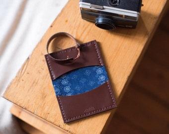 Sakin Leather Handmade Cardholder