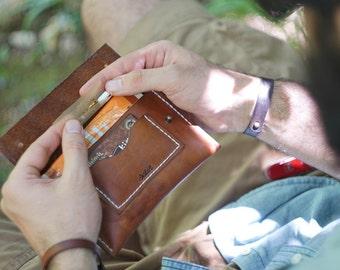 Sakin Leather Handmade Tobacco Pouch