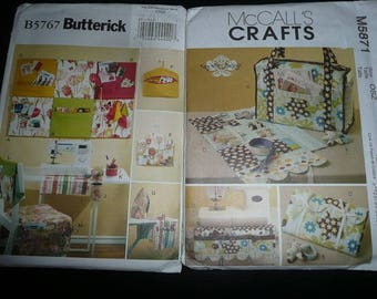 Butterick, McCall's , Vogue Sewing Room & Home Decor Project Sewing Patterns Uncut