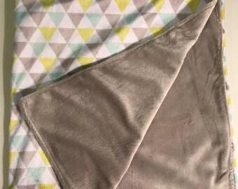 Minky Soft Baby Blanket