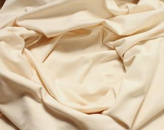0.5 meter fabric wristband cotton elastane Interlock jersey nature tube cbc GOTS C. Pauli