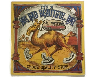 "It's a Beautiful Day, ""Choice Quality Stuff/Anytime"", vinyl record album, rock LP, psych, hippies"