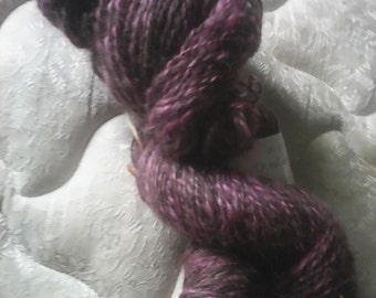 Alpaca mohair & wool 2 ply