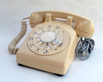 Vintage Rotary Phone 1970's Northern Telecom Model 500