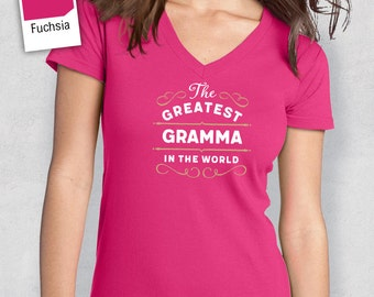 Greatest Gramma, Gramma Gift, Gramma T-shirt, World's Greatest Gramma Shirt, Gift For Gramma, Gramma T Shirt