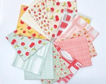 SALE!! Fat Quarter Bundle Farm Girl by October Afternoon for Riley Blake Designs- 13 Fabrics