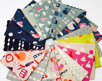 Fat Quarter Bundle Jubilee by Melody Miller for Cotton and Steel - 20 Fabrics