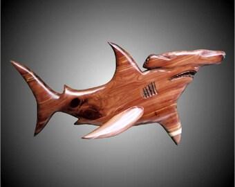 Hammerhead Shark Wall Sculpture