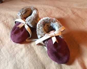 Baby Beauty Shearling Booties