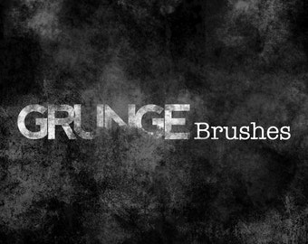 Grunge Brushes for Photoshop: Grunge Brushes; Photoshop brushes