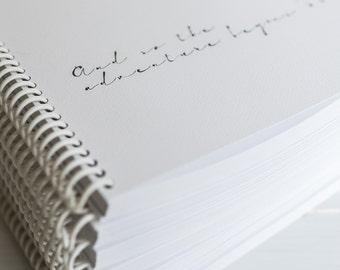 Wedding planner book A4 Spiral Book, organiser, planner, engagement gift   Planning book
