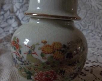 Small white ginger jar