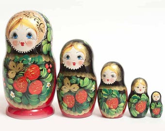 Nesting doll Strawberry - kod533p