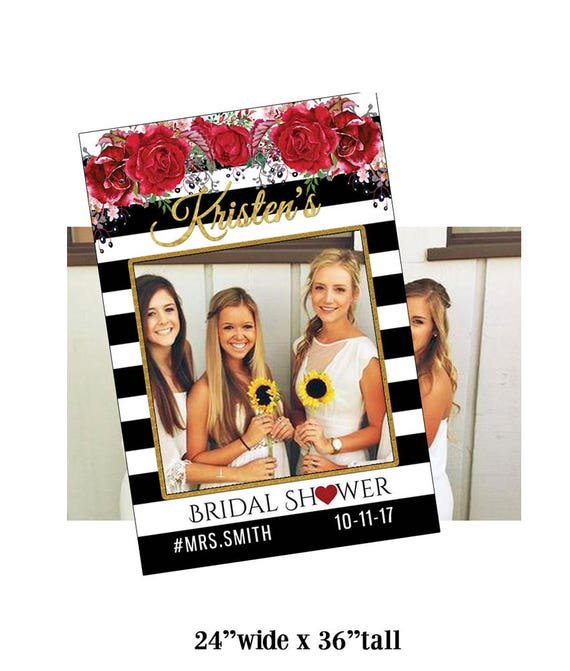 bridal shower decorations photo booth props photo frame photo props photo booth party props photo booth frame party booth