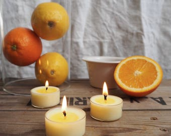 Six Seville Scented Soy Wax Tealights