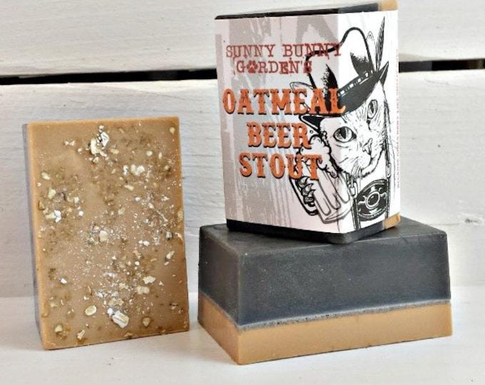 Oatmeal Stout Soap for Men, Beer Soap, Oatmeal Soap For Guys, Soap For Men, Stout Beer Soap, Funny Gifts For Men, German Beer Soap, Beer