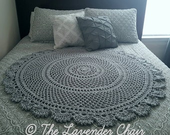 Ring Around the Rosie Mandala Blanket Crochet Pattern *PDF FILE DOWNLOAD* Instant Download