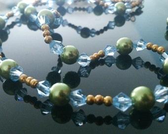 Golden spring - jewelry set