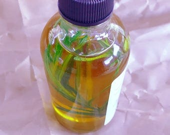Rosemary Mint bath, body and hair oil, skin and hair oil, herb oil, multi purpose oil, body oil, hair oil, massage oil, natural oil