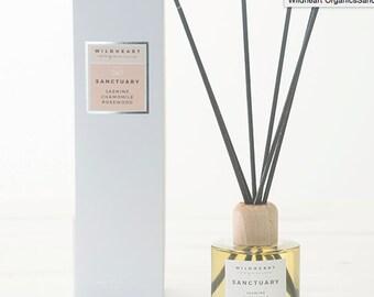 Reed Diffuser Organic   - Jasmine, Chamomile & Rosewood ,  Essential Oils Spa style treatment
