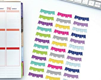 Bright Banner Planner Stickers! Perfect for your Erin Condren Life Planner, calendar, Paper Plum, Filofax!