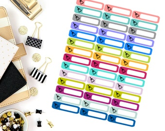 Cleaning Mini Label Stickers! Perfect for your Erin Condren Life Planner, calendar, Paper Plum, Filofax!
