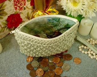 Coin Purse, womens change purse, woman coin pouch, change purse, zipper pouch, coin purse wallet, small zipper wallet, small zip purse