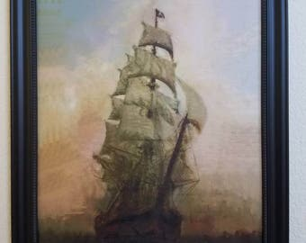 Priate ship