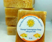 Orange and Lemongrass Soa...