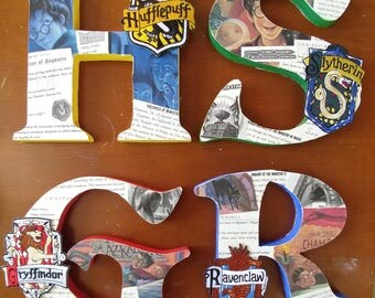 Harry Potter House Letters