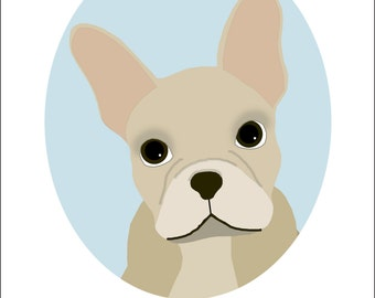 Dog Portrait Series | French Bulldog