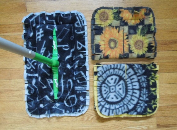 Swiffer Fleece Covers Set Of 3 By Pinnetta On Etsy