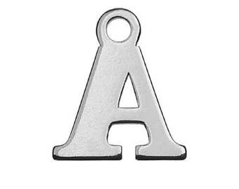 Charm Letter 'A' Sterling Silver 925