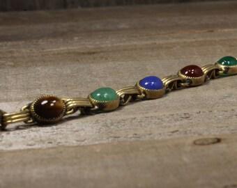 Used Unique Multi Stone Bracelet