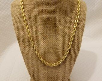 Unique Vintage Gold Necklace