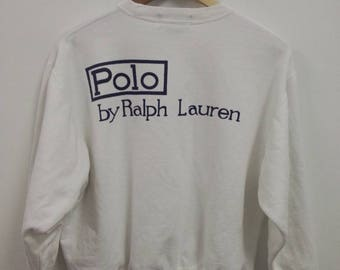 Hot Sale, Rare Vintage POLO by Ralph Lauren Sweatshirt Size M