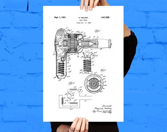 Hair dryer blueprint etsy hair dryer patent hair dryer poster hair dryer print hair dryer art malvernweather Image collections